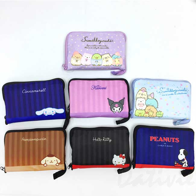 折疊保冷購物袋 sanrio 酷洛米 大耳狗 史努比 角落生物 環保購物袋 日本進口正版授權