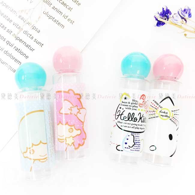 保養空瓶組 三麗鷗 KITTY 雙子星 凱蒂貓 2入 SKATER 空瓶容器 日本進口正版授權