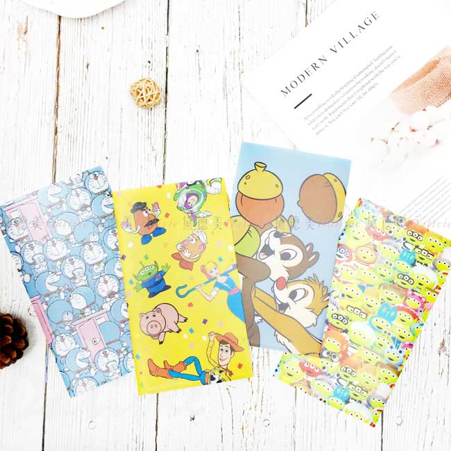 口罩收納夾 日本 Disney 玩具總動員 奇奇蒂蒂 哆啦A夢 收納套 日本進口正版授權