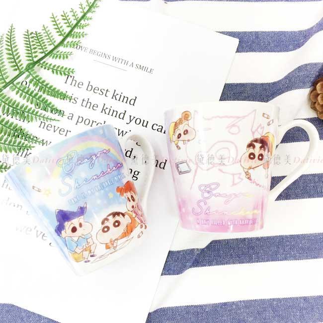 陶瓷馬克杯 蠟筆小新 Crayon Shin Chain クレヨンしんちゃん 杯子 日本進口正版授權