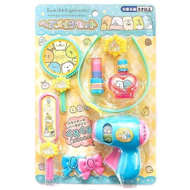 妝髮玩具組 SAN-X 角落生物 sumikko gurashi 裝扮玩具 日本進口正版授權
