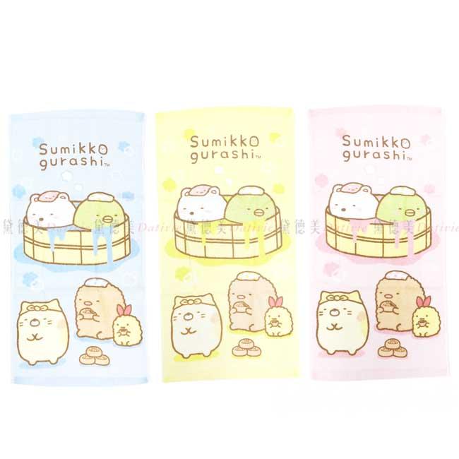 純棉印花童巾 san-x 角落生物 28x54cm sumikko gurashi 毛巾 正版授權