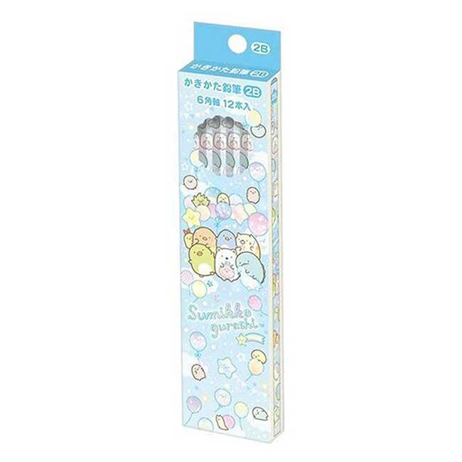 六角鉛筆組 日本 san-x 角落小夥伴 12入 Sumikkogurashi 2B鉛筆 日本進口正版授權