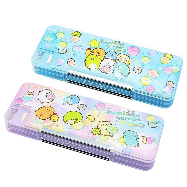 雙開鉛筆盒 日本 san-x 角落生物 Sumikkogurashi 多功能鉛筆盒 日本進口正版授權