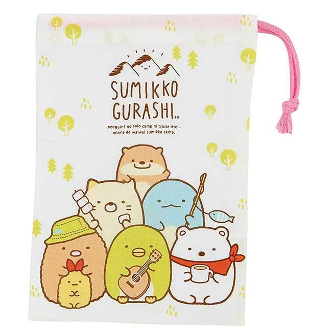純棉束口袋 日本 san-x 角落生物 SKATER Sumikkogurashi 收納袋 日本進口正版授權