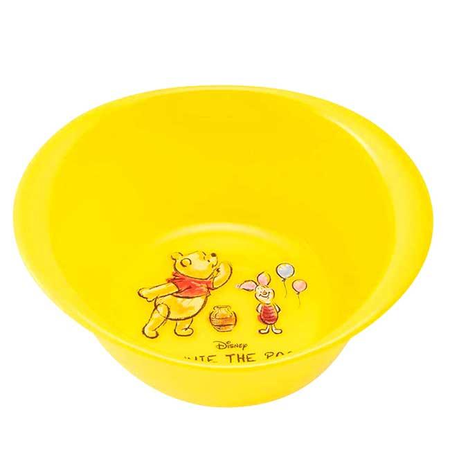 圓形塑膠小臉盆 迪士尼 小熊維尼 SKATER POOH 水盆 日本進口正版授權