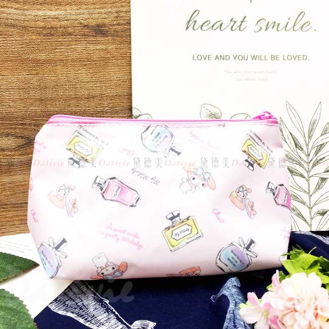 船型拉鍊收納袋 三麗鷗 美樂蒂 MY MELODY Sanrio 化妝包 日本進口正版授權