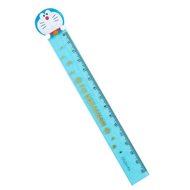 造型透明塑膠尺 三麗鷗 哆啦A夢 Sanrio Original 15cm尺 日本進口正版授權