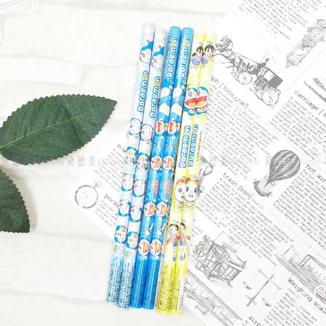 木頭鉛筆 sanrio 哆啦A夢 DORAEMON 三麗鷗 六入鉛筆 正版授權