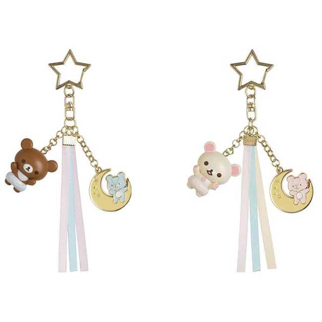 拉拉熊天使星星吊飾 san-x 懶懶熊 白熊 蜜糖熊 鑰匙圈 日本進口正版授權