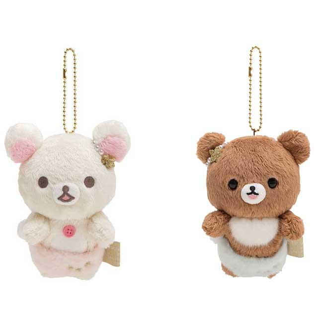 拉拉熊天使絨毛吊飾 san-x 懶懶熊 蜜糖熊 白熊 娃娃吊飾 日本進口正版授權