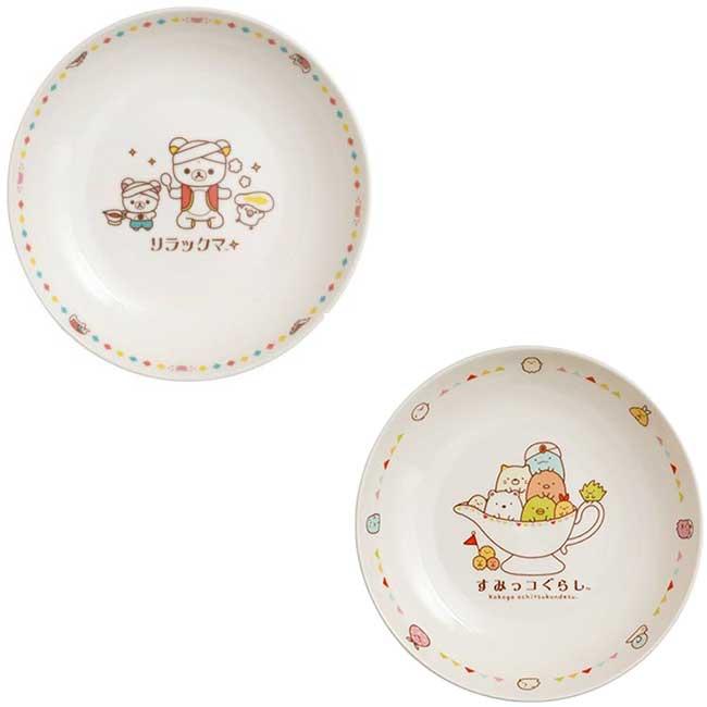咖哩盤 日本 SAN-X 拉拉熊 懶懶熊 角落生物 圓盤 日本進口正版授權
