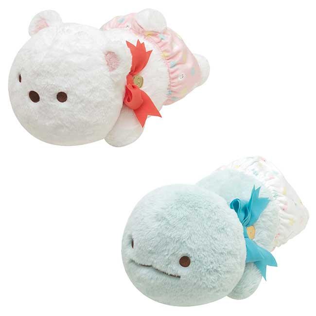 角落絨毛玩偶 SAN-X 角落生物 恐龍 白熊 娃娃 日本進口正版授權