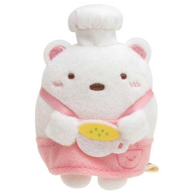 角落小絨毛玩偶 SAN-X 角落生物 白熊 小娃娃 日本進口正版授權