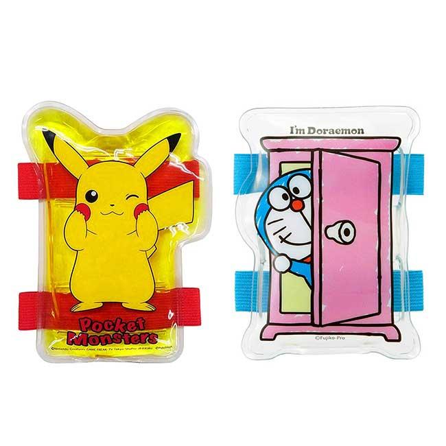 方形透明果凍保冷劑 寶可夢 皮卡丘 哆啦A夢 SKATER 造型保冷劑 日本進口正版授權