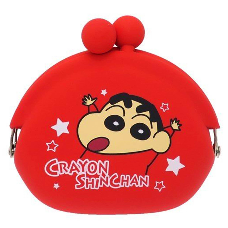矽膠口金零錢包 蠟筆小新 Crayon Shin Chain 收納包 クレヨンしんちゃん 日本進口正版授權