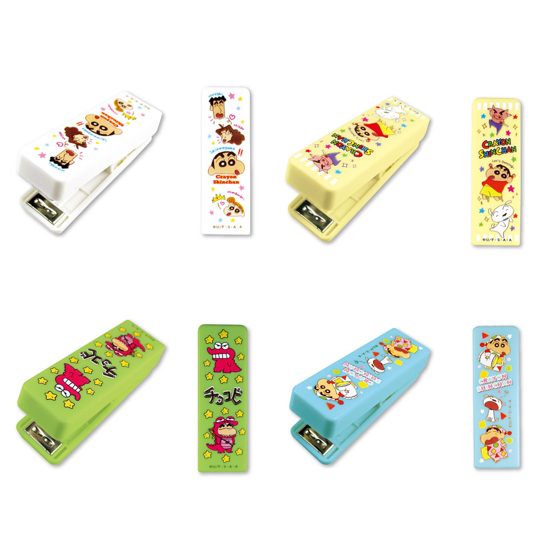 迷你釘書機 Mini Stapler 蠟筆小新 Crayon Shin Chain クレヨンしんちゃん 日本進口正版授權