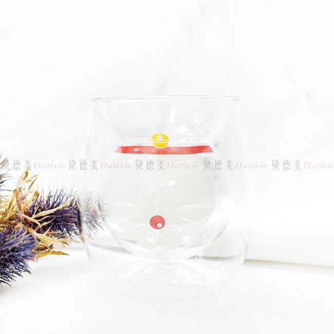 雙層玻璃杯 200ml 哆啦A夢 GLASS CUP 三麗鷗 Sanrio 日本進口正版授權