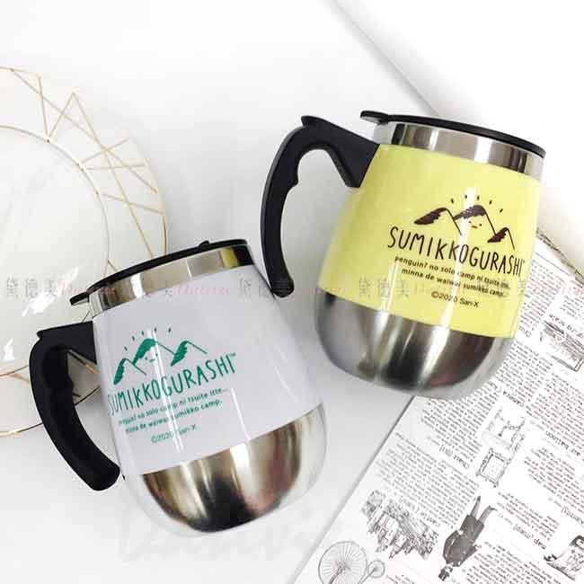 不鏽鋼茶壺 350ml 角落生物 Sumikkogurashi san-x 貓咪 白熊 恐龍 炸豬排 日本進口正版授權