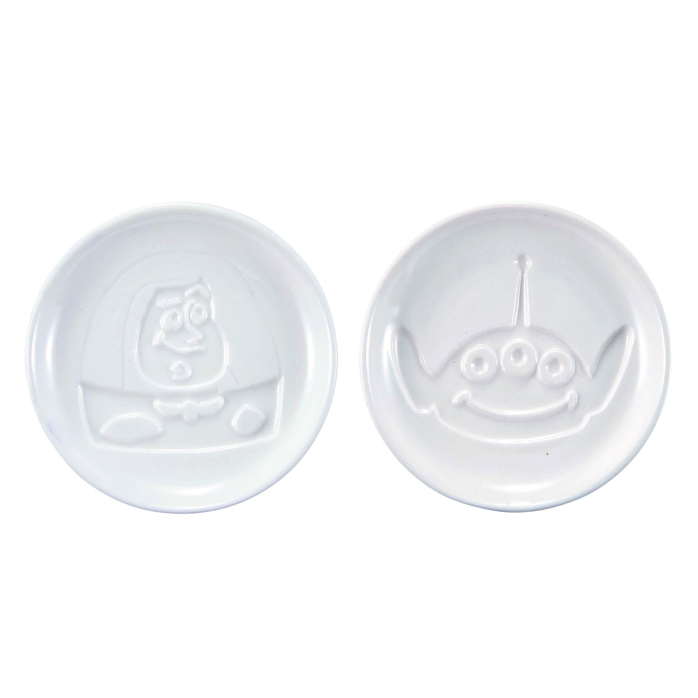 陶瓷醬油碟 三眼怪 巴斯光年 ALIEN Buzz Lightyear 迪士尼 皮克斯 DISNEY PIXAR 沾醬碟 日本進口正版授權