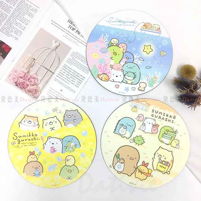 圓形隔熱墊 L 角落生物 Sumikkogurashi san-x 角落小夥伴 正版授權