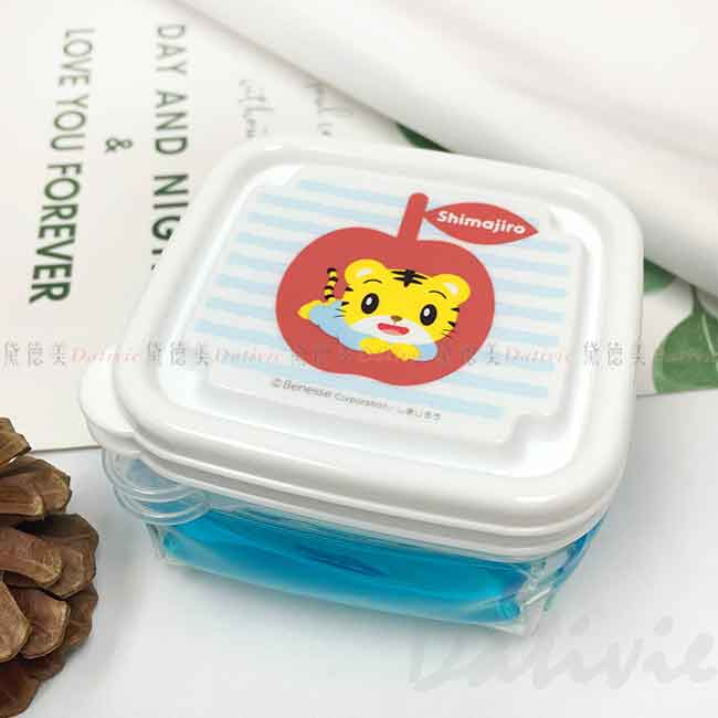 保鮮盒 100ml 2入 附保冷劑 離乳食 SKATER BABY 巧虎 可愛巧虎島 巧虎好朋友 巧連智 日本進口正版授權