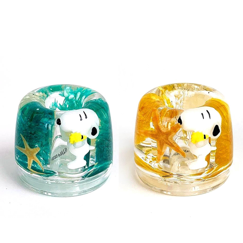 壓克力牙刷架 草本植物 史努比 SNOOPY PEANUTS 牙刷置物架 日本進口正版授權