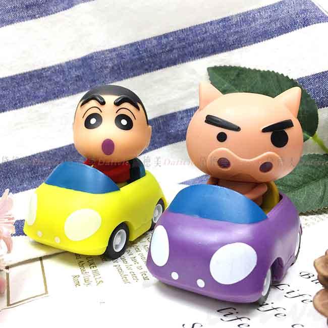 迴力車 蠟筆小新 不理不理左衛門 玩具車 正版授權