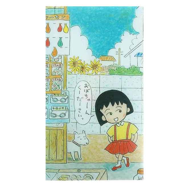 口罩收納夾 日本 櫻桃小丸子 抗菌 Chibi Maruko Chan 口罩夾 日本進口正版授權