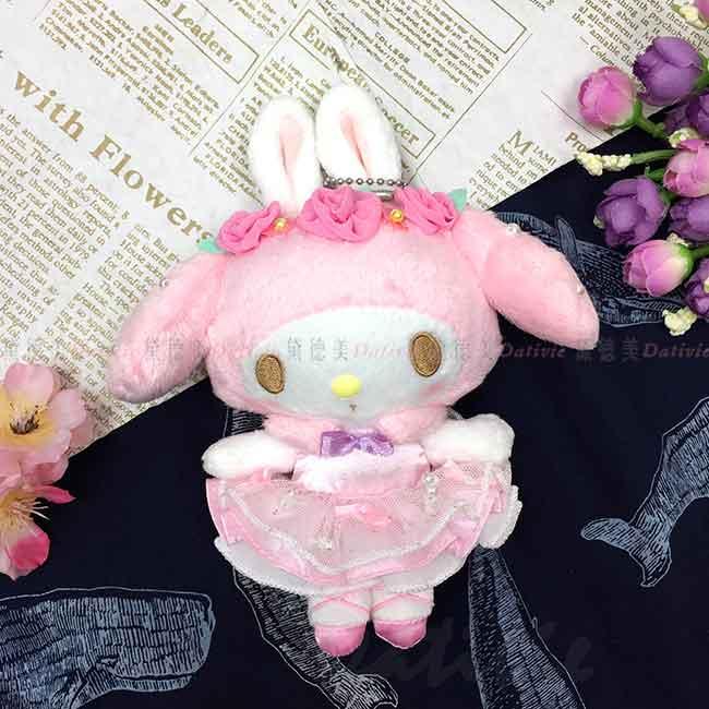 絨毛玩偶吊飾 Sanrio Original 美樂蒂 MY MELODY 娃娃 日本進口正版授權