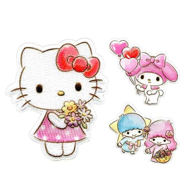 造型燙布貼 sanrio 凱蒂貓 美樂蒂 kikilala 日本進口正版授權