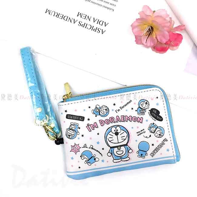 伸縮證件票卡零錢包 Sanrio 哆啦A夢 DORAEMON 票卡套 日本進口正版授權