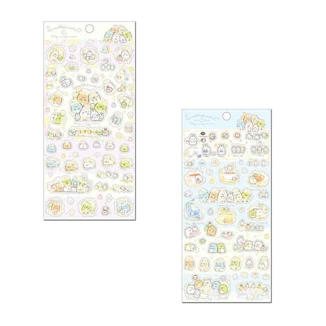 角落小夥伴造型貼紙 日本 san-x 角落生物 燙金貼紙 日本進口正版授權