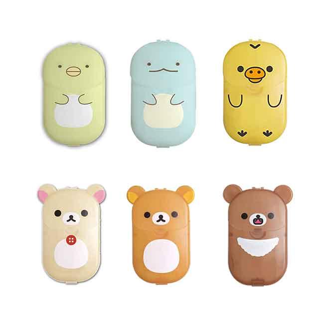 肥皂紙 日本 san-x 拉拉熊 懶懶熊 角落小夥伴 攜帶式肥皂片 日本進口正版授權