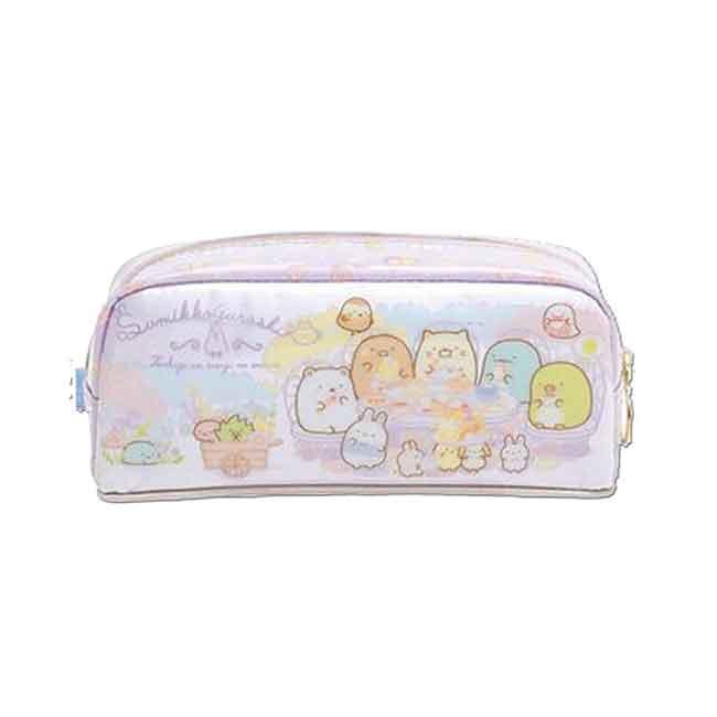 角落小夥伴防水筆袋 san-x 角落生物 拉鍊筆袋 日本進口正版授權