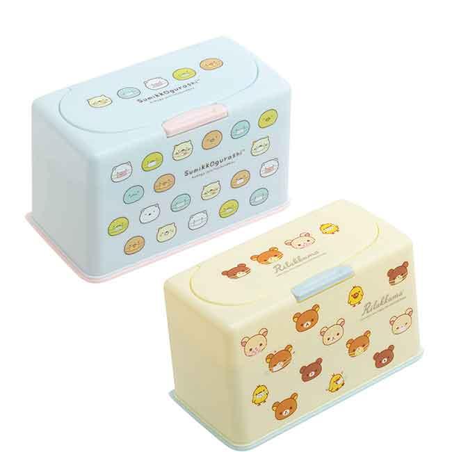口罩收納盒 san-x 角落生物 懶懶熊 拉拉熊 置物盒 日本進口正版授權