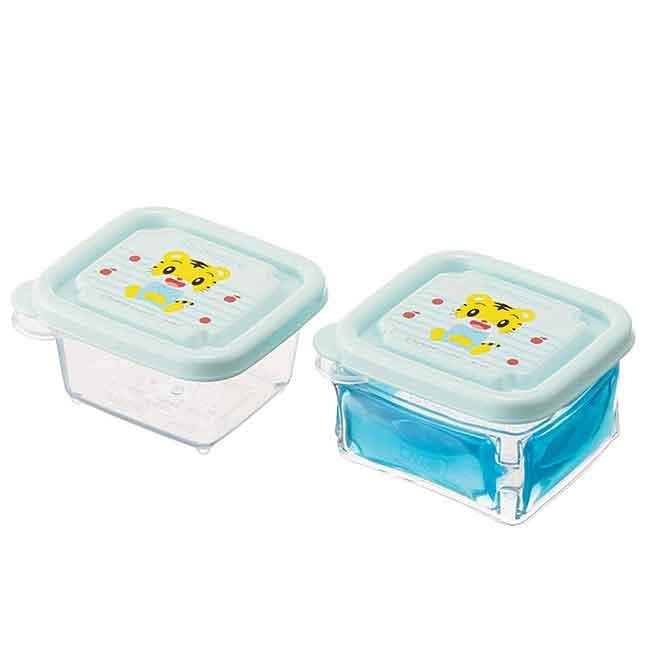 保鮮盒附保冷劑 日本 巧虎 離乳食 SKATER BABY 迷你保鮮盒 日本進口正版授權