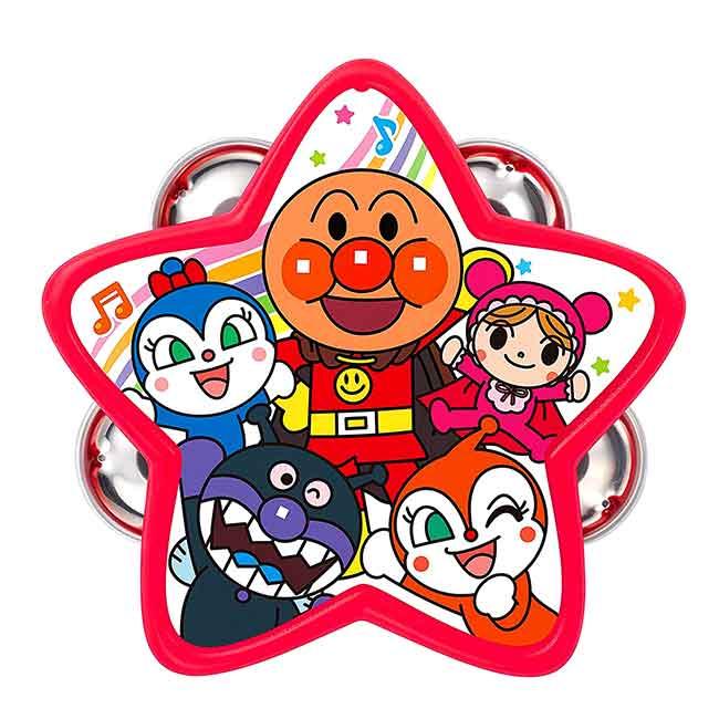 星型鈴鼓 麵包超人 PINOCCHIO 兒童玩具 日本進口正版授權