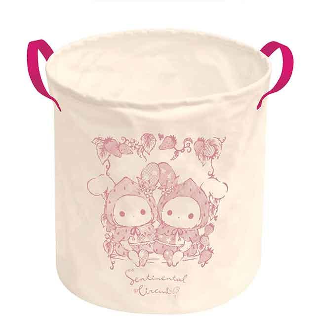 帆布收納筒 San-x 憂傷馬戲團 Sentimental Circus 洗衣籃 日本進口正版授權