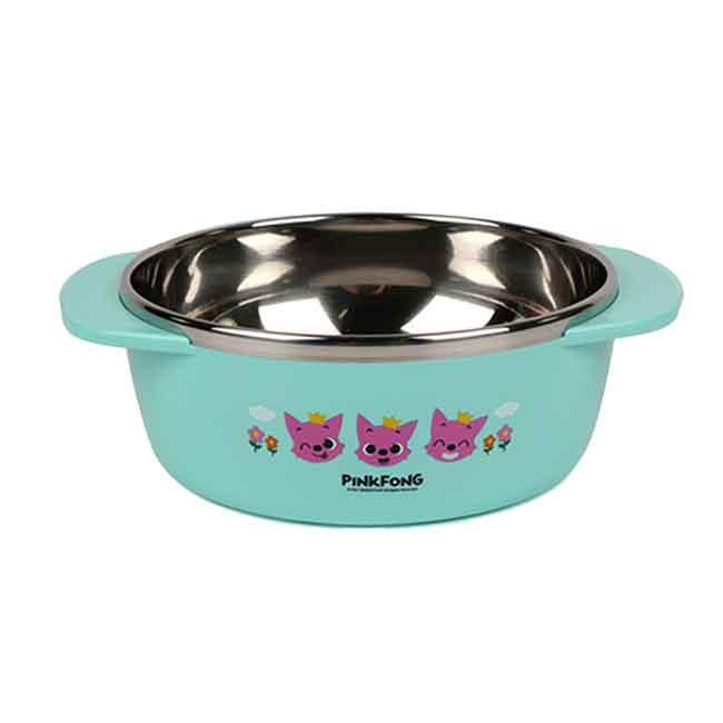 碰碰狐不銹鋼手把碗 韓國 幼童湯碗 韓國進口正版授權