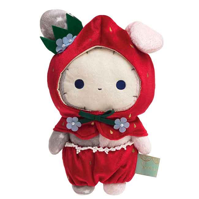 草莓造型絨毛娃娃San-x 憂傷馬戲團 尋找草莓的眼淚 深情馬戲團 玩偶 日本進口正版授權