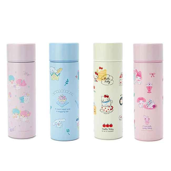 不銹鋼隨手瓶 三麗鷗 雙子星 大耳狗 kitty 美樂蒂 保溫保冷瓶 日本進口正版授權