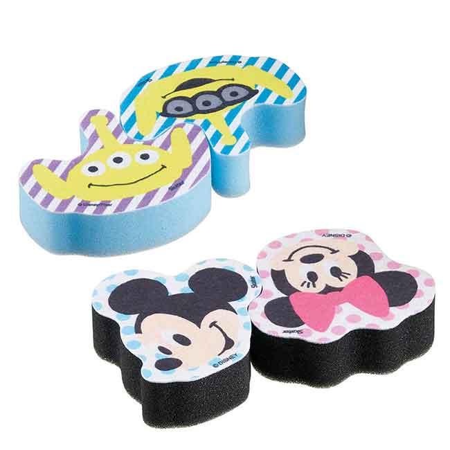 造型清潔海綿 迪士尼 米奇米妮 三眼怪 SKATER KITCHEN SPONGE 日本進口正版授權