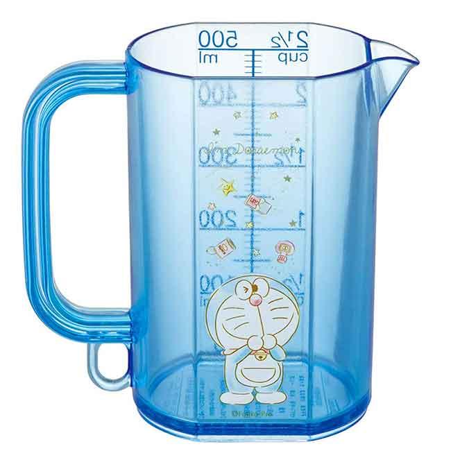單耳透明塑膠烘焙量杯 日本 哆啦A夢 DORAEMON SKATER 日本進口正版授權