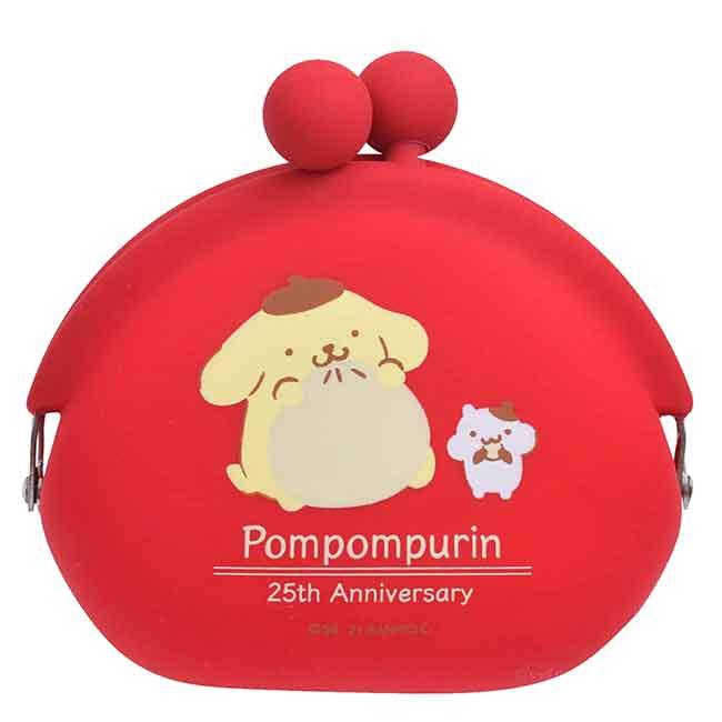 口金矽膠防水零錢包 Sanrio 布丁狗 NUU-Small p+g design POCHIBI 日本進口正版授權