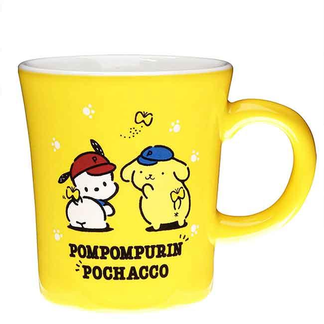 陶瓷馬克杯 日本 三麗鷗 PomPomPurin Pochacco 金正陶器 杯子 日本進口正版授權
