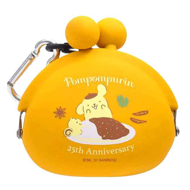 口金矽膠防水零錢包 Sanrio 布丁狗 25週年 NUU-Small p+g design POCHIBI 日本進口正版授權