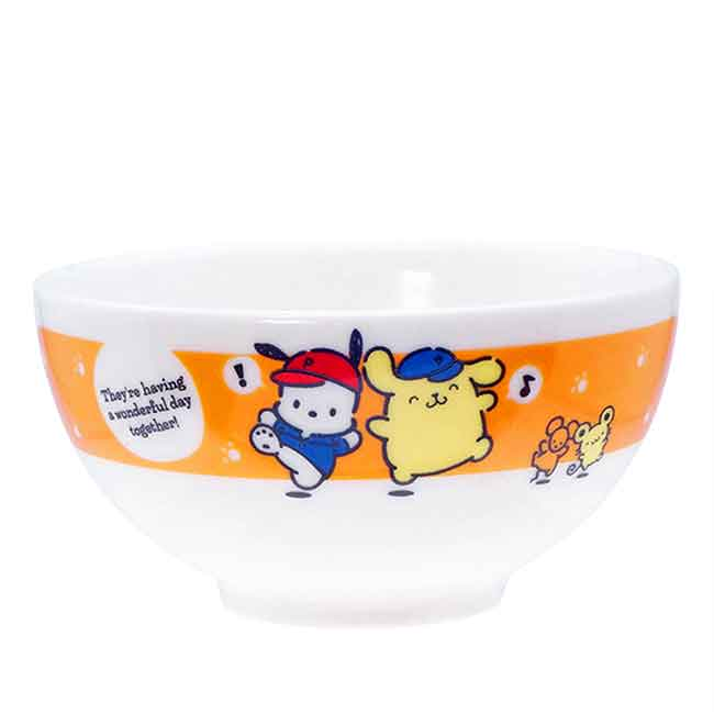 陶瓷碗 日本 三麗鷗 PomPomPurin Pochacco 金正陶器 碗 日本進口正版授權