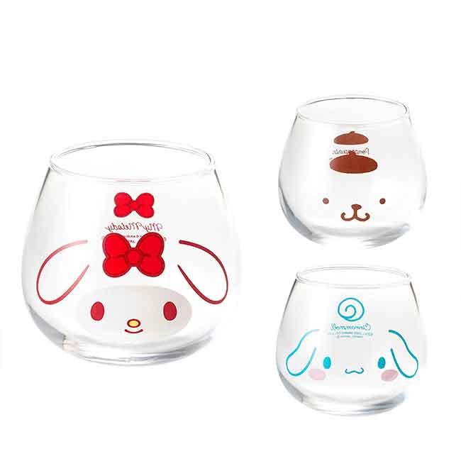 玻璃杯 日本 三麗鷗 布丁狗 大耳狗 美樂蒂 杯子 日本進口正版授權