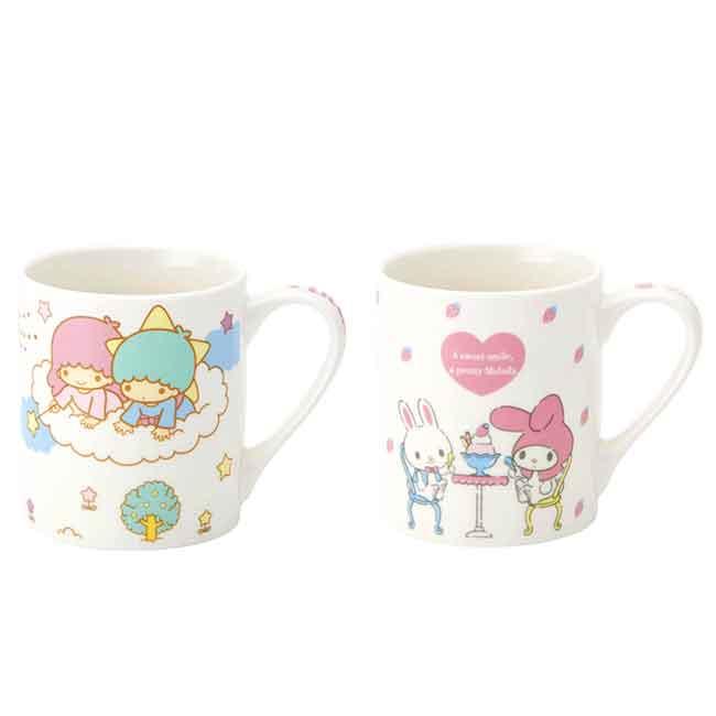 陶瓷馬克杯 Sanrio 美樂蒂 雙子星 Skater 三麗鷗 杯子 日本進口正版授權